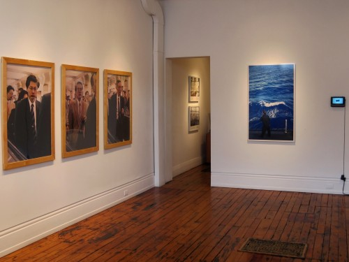 A portrait of the photographer - install shot #2