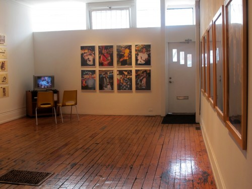 A portrait of the photographer - install shot #5