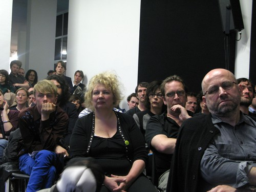 Seminar/Lecture, Jeff Wall, Willem de Rooij, Total Visibility, The artists, Witte de With, Rotterdam, 4/17/2009 4